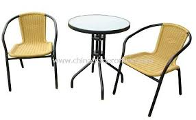 Woven Bistro Chairs Pe Rattan Table U0026 Chair Wholesale Suppliers In China Wholesale