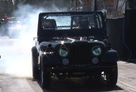 classic jeep cj meet the turbocharged v8 powered jeep that u0027s faster than a porsche