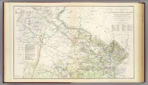 Map Of Loudoun County Va N E Virginia Washington 1 David Rumsey Historical Map Collection