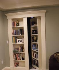 Wall Bookcase With Doors Decorations Modern Bookcase Door With Wood Shelves Also