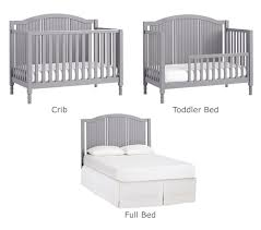 Baby Crib Bed 3 In 1 Convertible Crib Pottery Barn