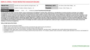 loreal trade marketing manager cover letter u0026 resume