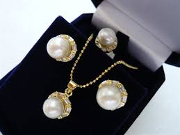 pearl pendant necklace wholesale images Wholesale latest fashion white shell pearl nice design earrings jpg