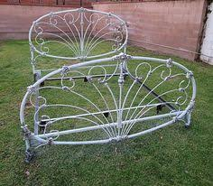 Shabby Chic Metal Bed Frame by Queen Size Iron Bed Frame French Provincial Bed Frames