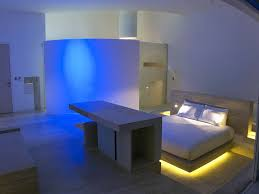 charming neon lights for bedroom including blue light under bed