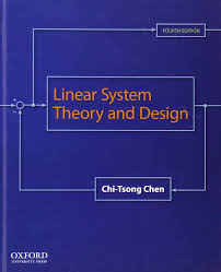 linear system theory and design chi tsong chen 9780199959570