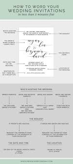 how to write a wedding invitation best 25 how to write wedding invitations ideas on