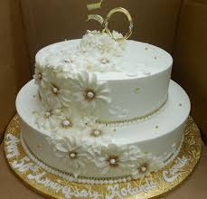 50th wedding anniversary cakes calumet bakery 50th wedding anniversary gold 50th wedding