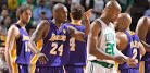 Los Angeles Lakers beat Boston Celtics at less than best - NBA ...