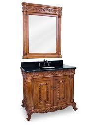 40 Inch Bathroom Vanities by Hardware Resources Burled Single 40 Inch Traditional Bathroom