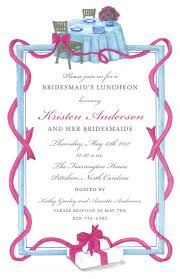 bridesmaid luncheon bridesmaid luncheonparty invitation the collected tabletop