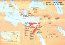 Babylonian Empire Map Location Where Books Of The Bible Were Written Jesus Reigns