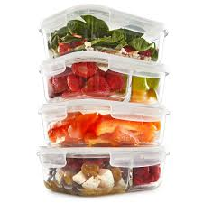 Food Storage Glass Containers Glass Meal Prep Containers U2013 Fit Strong U0026 Healthy