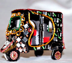 beads decoration home handcrafts pakistani india rickshaw mirror beads work decorative