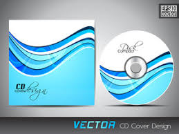 design cd cover blue cd cover with white waves royalty free stock image storyblocks