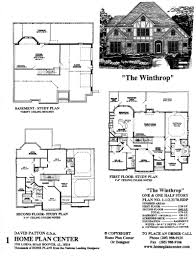 basement home floor plans house plans with a view and lots of