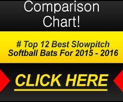 best softball bat best slowpitch softball bats 2016 reviews and top picks