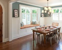 Window Treatments For Bay Windows In Dining Room Photo Of Fine - Dining room with bay window