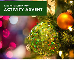25 days of christmas activity advent calendar 2017 a little bit