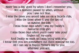 i miss you s day poem