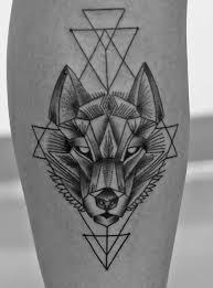 best 25 geometric tattoo dog ideas on pinterest geometric