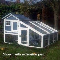 Rabbit Hutch With Large Run Boomer U0026 George 2 Story Rabbit Hutch With Rounded Roof Perfect