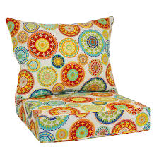 Plantation Patterns Seat Cushions by Plantation Patterns Sunbrella Canvas Spa Patio Deep Seating