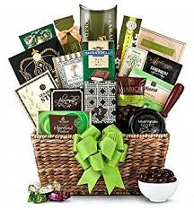 raffle basket ideas for adults green elegance gift basket unisex