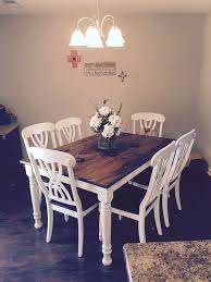white farmhouse table black chairs 7 best dining room images on pinterest beautiful centerpieces and