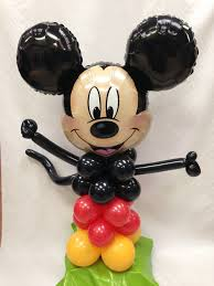 mickey mouse balloon arrangements mickey mouse balloon buddy balloon bouquets plus flower and