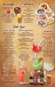 cocktail drinks menu el parral martinsville va menu el parral u0026 monterrey mexican