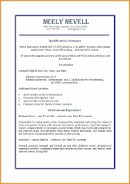 Resume Sample Format Pdf Philippines by Job Resume Template Pdf Format Download Sample For High