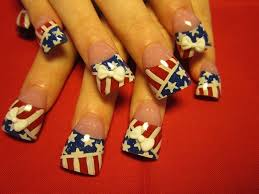 121 best nail art 18 4 of july images on pinterest 4th