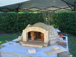 how to build a wood fired pizza oven bbq smoker combo detailed
