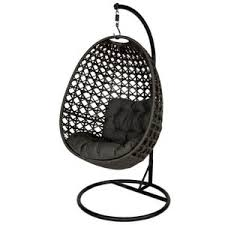 amazon com st tropez outdoor hanging chair in espresso blac