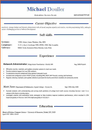 Formatted Resume Template Latest Resume Format Doc Format Resume Download Simple Resume