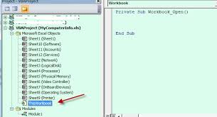 how to see all your pc information using a simple excel vba script