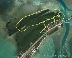 Kayak Map Getting Lost Kayaking Mangroves In The Florida Keys U2014 Deviating