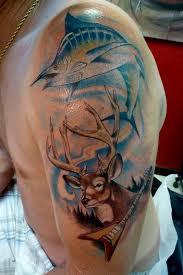 marlin tattoo kuta mully tattoo tattoos fine line marlin buck flying v