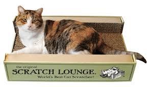 Cardboard Cat Scratcher House Amazon Com The Original Scratch Lounge Worlds Best Cat