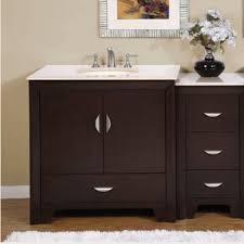 54 inch bathroom vanity single sink