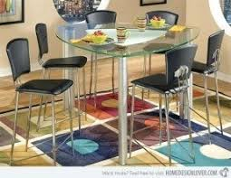 Triangular Kitchen Table by Unique Counter Height Dining Sets Foter