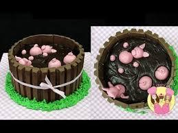 kit kat birthday cake recipe pigs in mud kid video kids