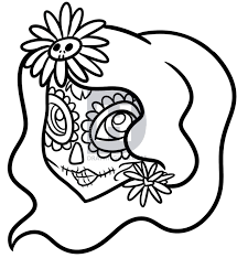 sketches for easy day of the dead sketches www sketchesxo com
