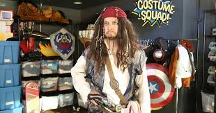 Halloween Jack Sparrow Costume Captain Jack Sparrow