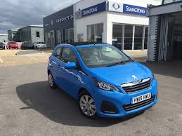 blue peugeot for sale used 2015 peugeot 108 active top 3dr for sale in ryde isle of wight