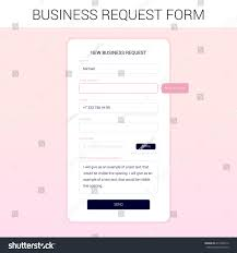 New Business Email Address by Modal Window Development Site New Business Stock Vector 411836512