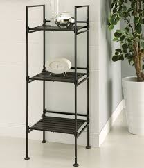 3 Shelf Wire Rack Free Standing Storage And Display Shelves Organize It
