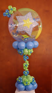 128 best baby shower images on pinterest balloon decorations