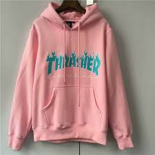 thrasher flame logo hoodies men box supremo paccbet moletom hip